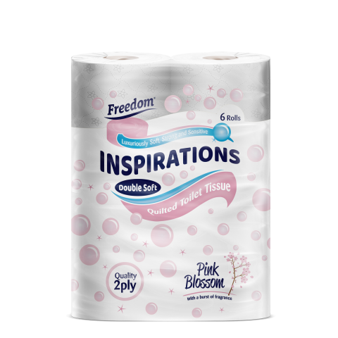 Inspirations 6 Pack Pink Blossom 2 Ply