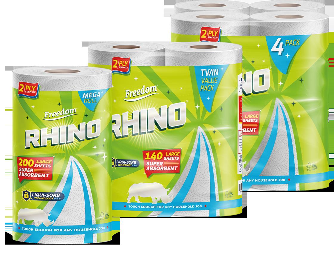 Rhino 2ply Group Shot