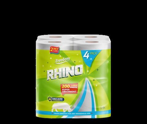 Rhino 2 Ply 4 Pack