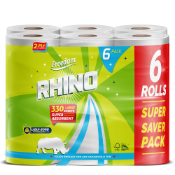 Rhino 2 Ply 6 Pack