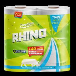 Rhino 2 Ply Twin Pack