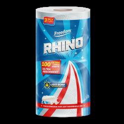 Rhino 3 Ply Single Roll 100 Sheets