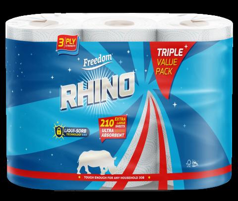 Rhino 3 Ply Triple Pack