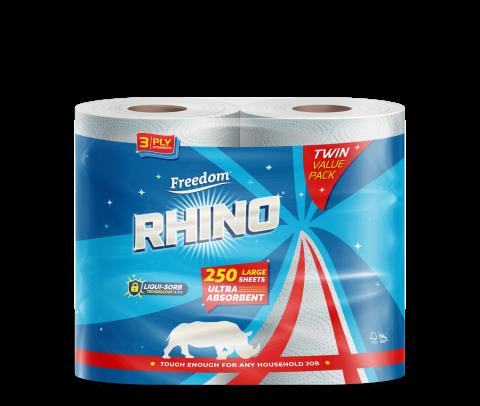 Rhino 3 Ply Twin Pack